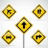 Free Vector Road Signs download