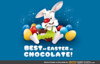 Best Of Easter Is Chocolate Chocolate Egg Bunny