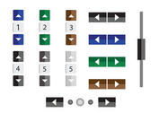 Vector Numbers and Buttons