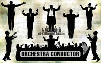 8 Orchestra conductor