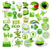 Green Element Vector Material Green Environmental Protection Recyclable