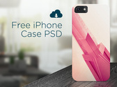 Free iPhone Case PSD