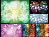 Bling Bling Shiny Material Dissolved Figure Vector Backgroun