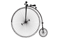 Vintage Old Fashioned Bicycle Free