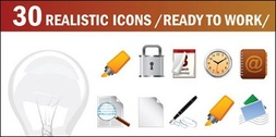 Light bulbs, mark pen, lock, horn, compass, microphone, timer