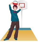 Basketball sport vector 1