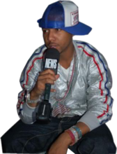 Juelz Santana With Mic PSD