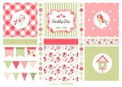 Free Vector Shabby Chic Theme