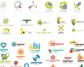Logo entreprise Collection Set de Vector