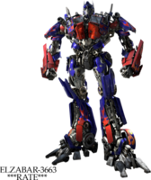 Optimus prime Transformer PSD