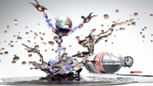 soda splash PSD