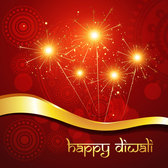 Exquisite Diwali background vector-1