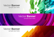 Banners vector moderno
