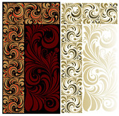 Background of ornate European-style classical pattern
