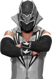 Sin Cara Black Attire PSD