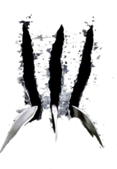 wolverine claws slicing PSD