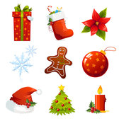 Pack of Christmas Icon. Free