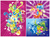 3, the trend of color illustrations
