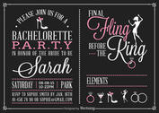 Free Bachelorette Party Invitation