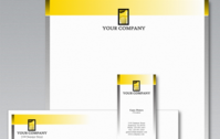 Stationery template by logobee