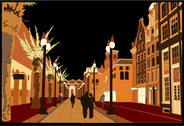 City streets Vector Download