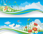 Free Stock Summer Banners