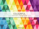 Vector colorful background triangle