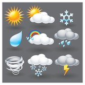 cartoon weather icon 5
