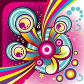 Free Wonderful Colorful Background Vector Graphic Set