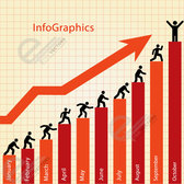 Free vector Business Info graphics chart
