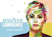 Jennifer Lawrence Vector Portrait