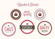 Free Vector Bakery Badges and Labels