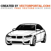 BMW CAR VECTOR GRAPHICS.eps