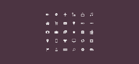 Gewone Icon Set