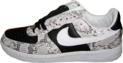 Air Force Ones Black White PSD