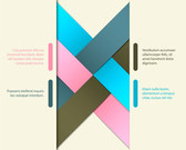 Free vector about vector colorful origami template