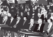 The first innaugaration of President Hafez al Assad in Parliament March 1971 thumbnail