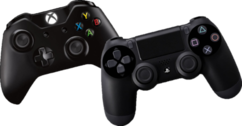 Xbox One & PS4 Controllers PSD