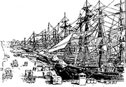 Ships On The Dock