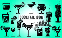 15 Cocktail symbol icon