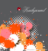 Paint Drops Background