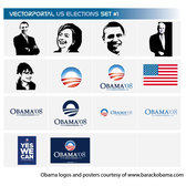 US ELECTIONS FREE VECTOR SET.eps