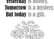 Yesterday is history... Poster