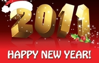 Happy New Year Vectors 2