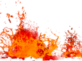 Lava Splash PSD