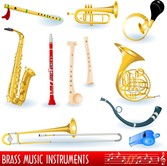 A Variety Of Musical Instruments