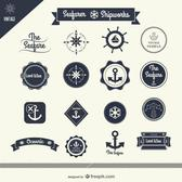 SAILING VECTOR STICKERS.eps