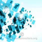 DYNAMIC BLUE TILES VECTOR.eps