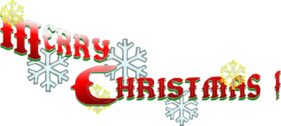 Merry Christmas Font 3 PSD
