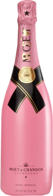 Pink Champagne Bottle PSD